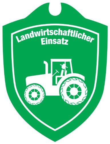 Waidmannsbruecke Autoschild Landwirtschaftlicher Einsatz neutral Grün, 1 SZ