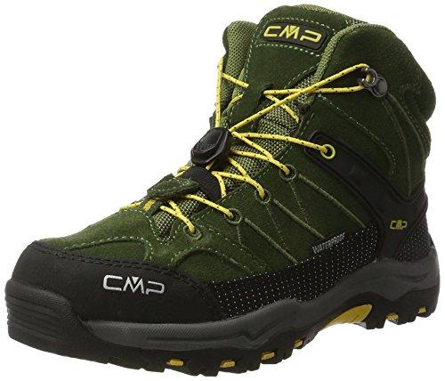 CMP Rigel Mid WP Unisex-Kinder Trekking-& Wanderschuhe, Grün (Loden-Olive), 37 EU