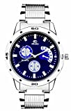 #3: ADAMO Analogue Blue Dial Men's Watch- AD108