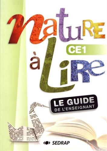 Nature à lire CE1 : Guide