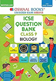 Oswaal ICSE Question Bank Class 9 Biology Book Chapterwise & Topicwise (For 2022 E