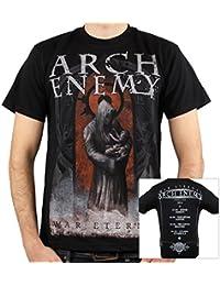 Arch Enemy, T-Shirt, Tour Finland 2014, S