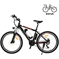 BIKFUN Elektrofahrrad, 20/26 Zoll E-Bike, Lithium-Akku (36V 8Ah), 250W, 21-Gang (26 klassisch)
