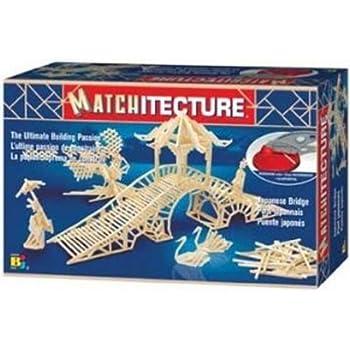 Matchitecture - 6642 - Jeu de Construction - Japanese Bridge / Pont Japonais