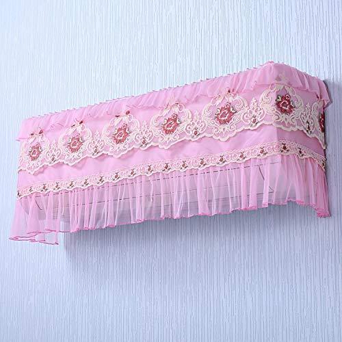Klimaanlage Abdeckung Hängenden Stiefel Nimmt Keine Windschutzscheibe Indoor Staubschutztuch Volle Tasche Spitze 86cm K2 pink