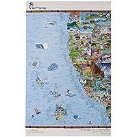 West Coast Of America Surf Map