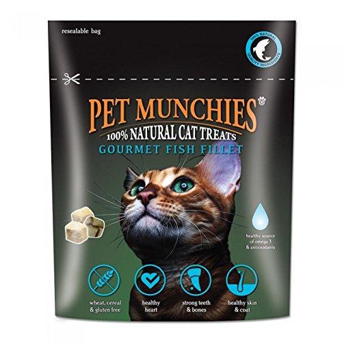 Pet Munchies - Snacks gourmet de filete de pescado para gatos (10g/Variado)