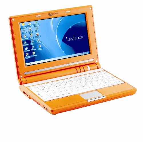 Lexibook MFC 100 DE 20,3 cm (8 Zoll) Laptop (2MB HDD, CE 5.0) orange