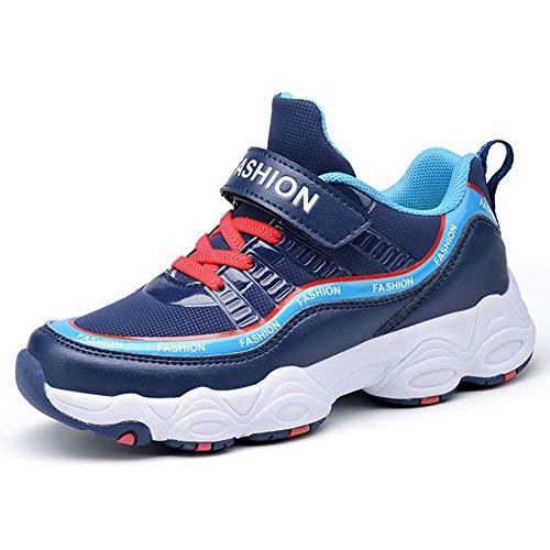 Yi buy bambini scarpe da ginnastica scarpe sportive bambina casual sneaker per ragazzi sneaker blu 32 eu