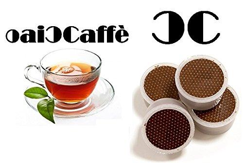 Preisvergleich Produktbild CiaoCaffè 50 Kompatibel LAVAZZA ESPRESSO POINT Kapseln 100% BLATT TEE Italy Made