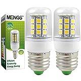 MENGS® Pack de 2 Bombilla lámpara LED 5 Watt E27, 30x 5050 SMD, Blanco Frío 6500K, AC 220-240V
