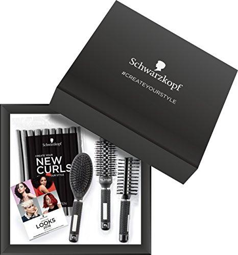 Schwarzkopf CreateYourStyle-Box mit 3 Bürsten und Papilotten