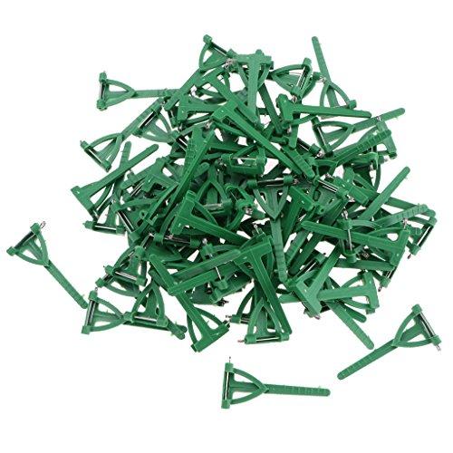 Sharplace 100 x Anstecknadel Anstecker Hochzeit Corsage Clip Pin -
