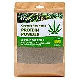 Polvere Proteica di Canapa Biologica, 1 kg, 50% Proteine, Non trattata termicamente, I nutrienti sono preservati, Sapore di Nocciola, Coltivazione in clima nordico, Polvere proteica vegana, non-OGM
