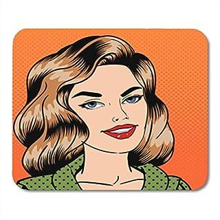 Gaming Mauspad Adult Smiling Beautiful Woman Pop Attractive Beauty Cartoon Character 11.8