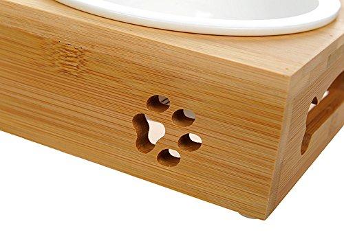 Tao king chat gamelles ceramique set avec support bambou 2 for Diamant coupe miroir
