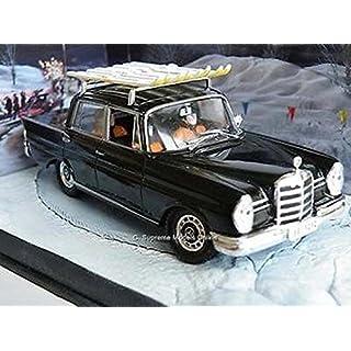 Mercedes Benz Car 220S James Bond 1/43Rd Scale Blue Colour Example Pkd T3412Z