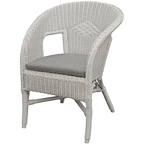 White wicker chair - Amazon bedroom chairs and stools ...