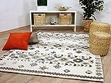 Theko Natur Teppich Berber Aruna Wollweiss Klassik in 7 Größen