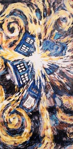 Doctor Who Van Gogh Towel