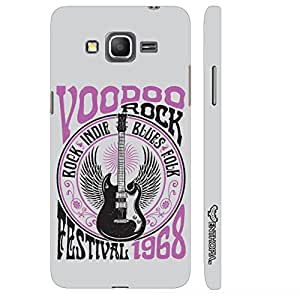 Enthopia Designer Hardshell Case Voodoo Rock Back Cover for Samsung Galaxy J3