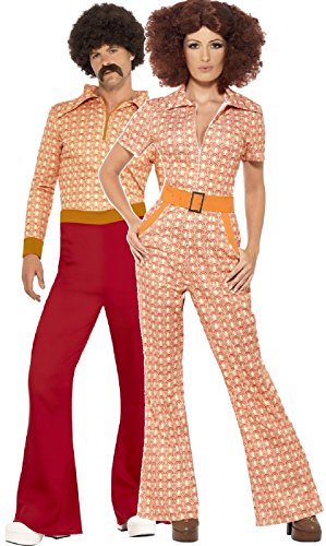 Couples Ladies AND Mens 1970s Costumes