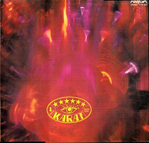 Karat / Karat Berlin DDR / 1978 / Bildhülle mit bedruckter ORIGINAL Innenhülle / Amiga # 8 55 573 / 855573 / Deutsche Pressung / 12 Zoll Vinyl Langspiel-Schallplatte /