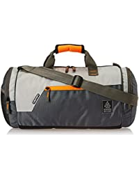 Gear Polyester 38 cms Grey Travel Duffle (DUFCRSTNG0406)