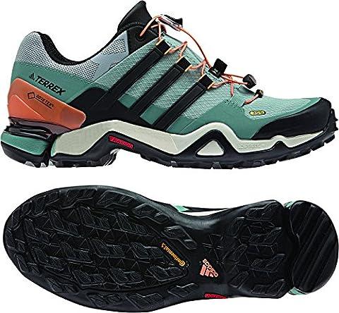 Adidas Damen Terrex Fast R Gtx W Wanderschuhe, Grün (Vertac/Negbas/Acevap), 39 EU