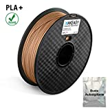 Filament Bois 3D Printer Filament wood 3D Filament PLA 1.75mm Imprimante 3D1kg 1Spool 20% Wood Fiber