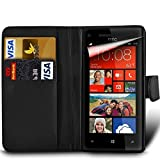 Microsoft Lumia 532 Premium PU Leather Wallet Flip Skin