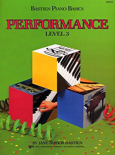 Bastien Piano Basics: Performance Level 3