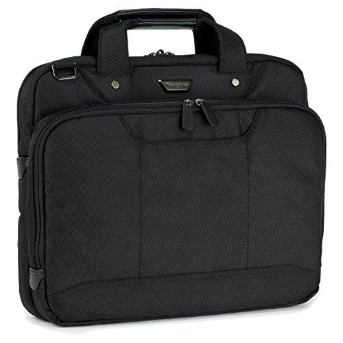 Targus Corporate Traveller Topload Ultra Thin Laptop Taschen 14 zoll - Schwarz - CUCT02UT14EU (Aktentasche Tasche Ballistische)