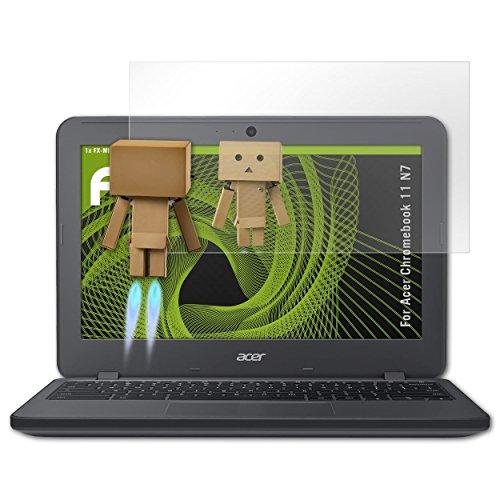 atFolix Bildschirmfolie kompatibel mit Acer Chromebook 11 N7 Spiegelfolie, Spiegeleffekt FX Schutzfolie