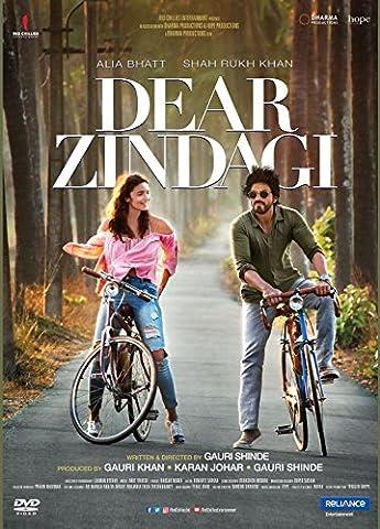 DEAR ZINDAGI Film ~ Bollywood DVD ~ Hindi mit englischem Untertitel ~ Shahrukh Khan, Alia Bhatt ~ Karan Johar ~ India ~ (Bollywood Mit Shahrukh Khan)