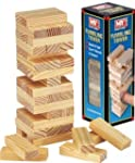 Wooden Tumbling Stacking Tower Kids F...
