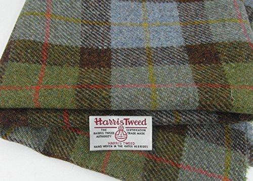 Authentic Harris Tweed Stoff 100% reiner Schurwolle mit .. Etiketten, 75 x 50...
