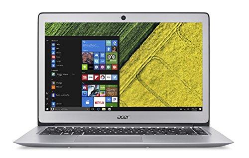 Acer Swift 3 SF314-51-53LV, Notebook, Display da 14' HD LED, Processore Intel Core i5-7200U, RAM da 8 GB DDR4, SSD 256 GB, Scheda Grafica Intel HD, Grigio