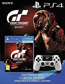 Gran Turismo Sport + PlayStation 4 Wireless DualShock Controller (B075XW2W2C) | Amazon price tracker / tracking, Amazon price history charts, Amazon price watches, Amazon price drop alerts