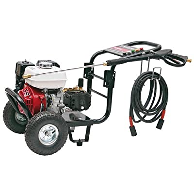 SIP Tempest PP 760/190 2760psi 190 Bar Honda Petrol Pressure Washer All Terrain Wheels from SIP
