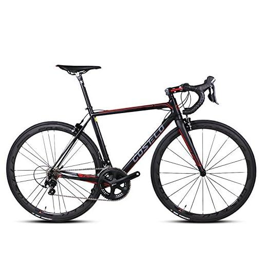 Costelo Bici Da Corsa Da Uomo In Fibra Di Carbonio Velocità Rottura
