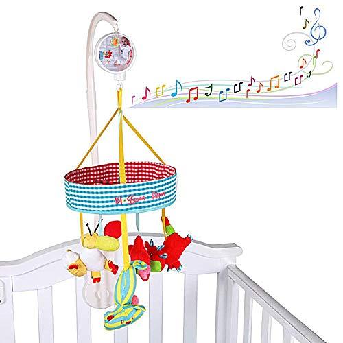 Baby-Krippe Spielzeug Mit Arm [Tier, Bunt] Musical Mobile