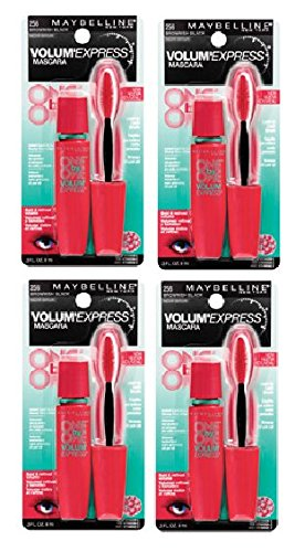Maybelline Volum' Express 1 on 1 Washable Mascara 256 Brownish Black 4 pk by Unknown