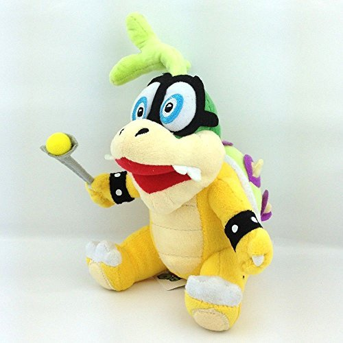 Iggy Koopa Super Mario Bros Character Plush Toy Hop Koopalings Bowser Figure 6 by Barton Sales