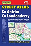 Philip's Street Atlas Co. Antrim and Co. Londonderry: Pocket Edition