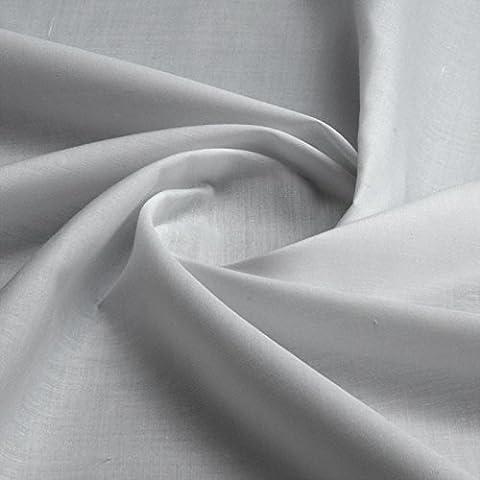 Plain 100% Cotton Woven Fabric 150cm wide per metre