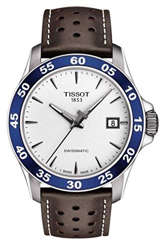 Tissot V8 Herren-Armbanduhr 42mm Schweizer Automatik T1064071603100 (Mechanische Tissot Uhren)
