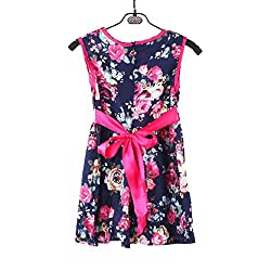 Baby Dress 0-6 Years, Transer® Infant Girls Floral Dress Baby Clothes born Kids Party Dress Toddlers Outwear Formal Bowknot Tulle Dress Girl Flower Princess Dresses