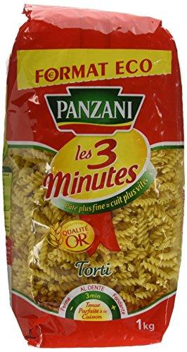 Panzani Pâtes Torti 3 Minutes 1 kg