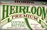 Groves + Banks HL90 Hobbs 90 x 108 Pouces Feuille d'Ouate en Coton de Qualite-Crib Heirloom, Blanche, Multicolore